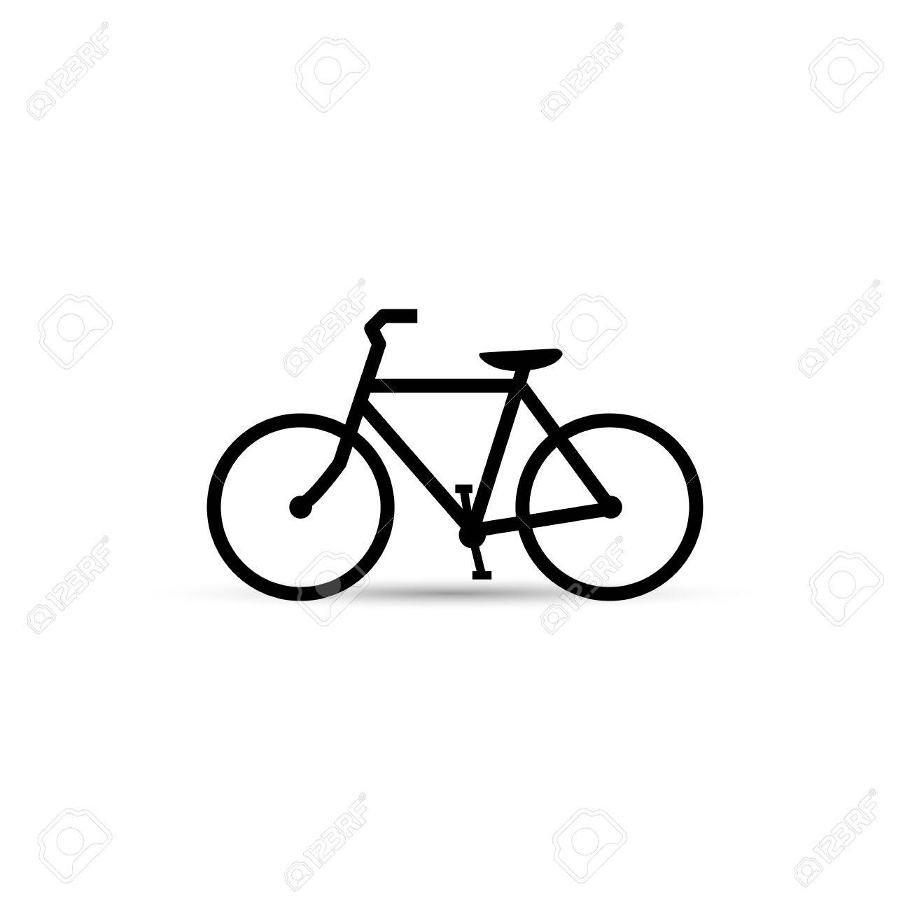 Illustration of a bicycle isolated on a white background. - 29339675