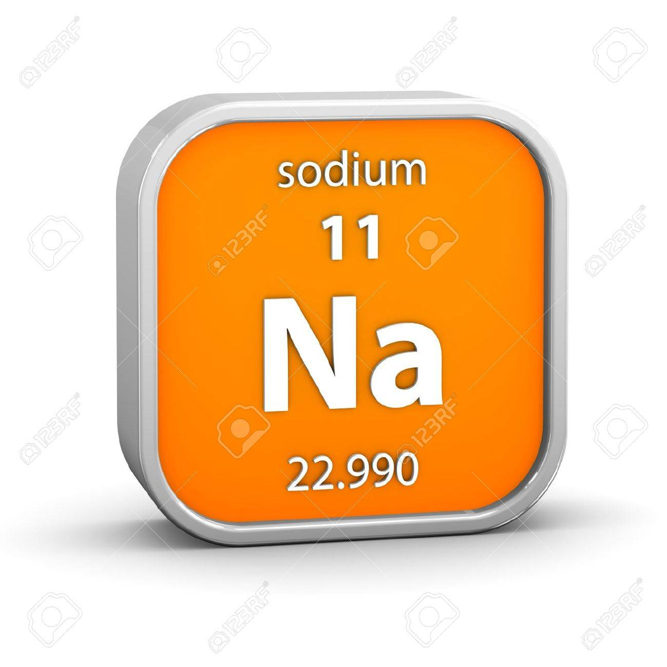 Sodium material on the periodic table part of a series stock sodium material on the periodic table part of a series stock photo 17963781 urtaz Gallery