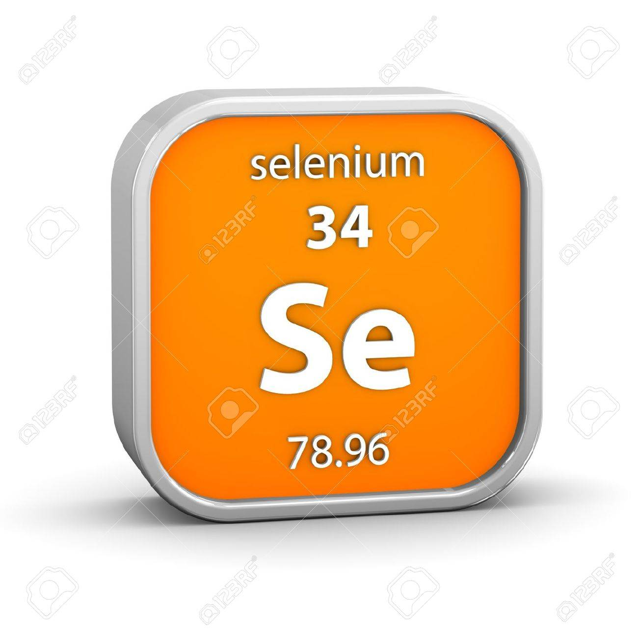 Selenium material on the periodic table part of a series stock selenium material on the periodic table part of a series stock photo 18441906 gamestrikefo Images