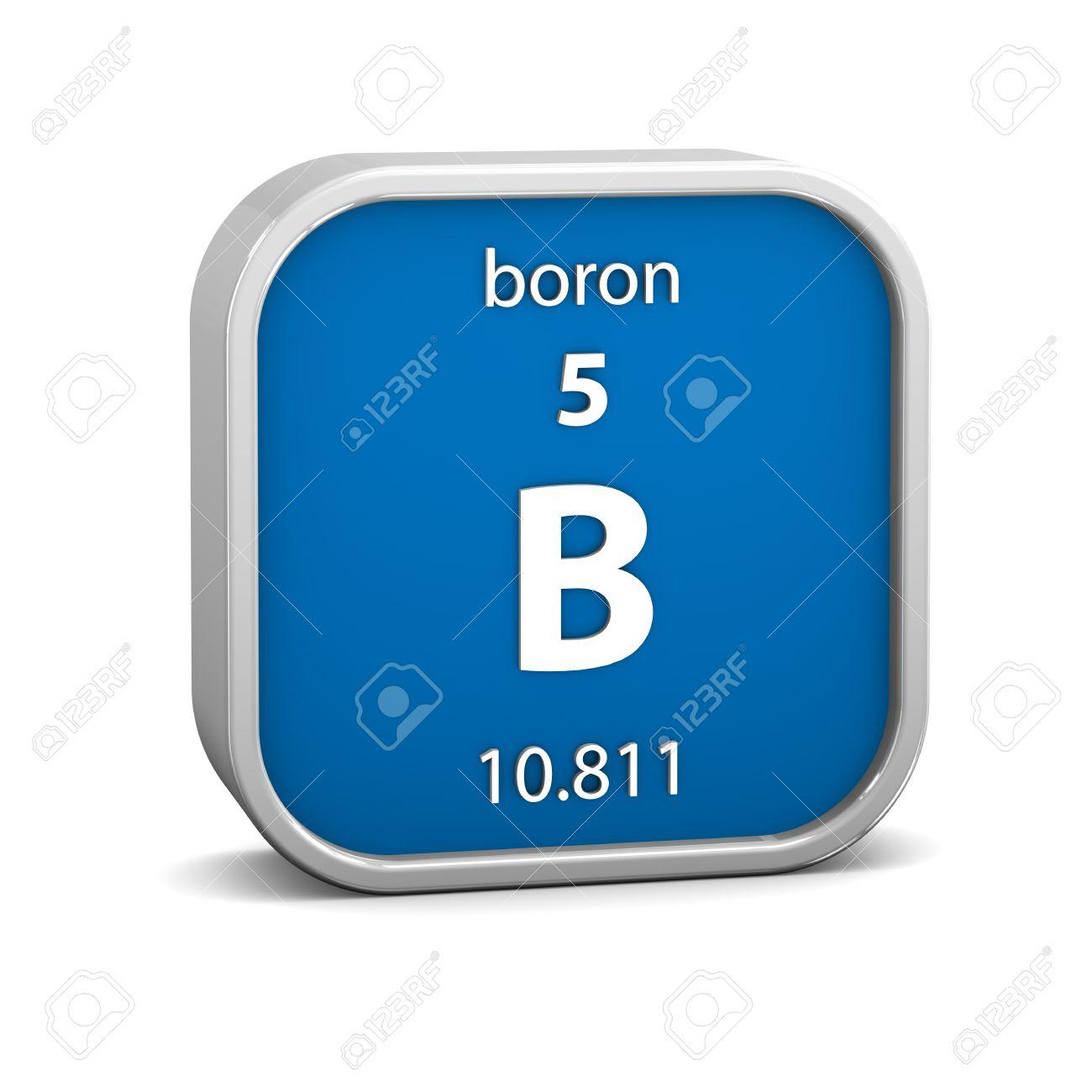 Boron periodic table symbol gamestrikefo Image collections