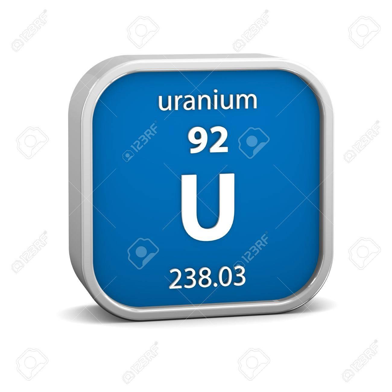 Material de uranio en la tabla peridica parte de una serie material de uranio en la tabla peridica parte de una serie foto de archivo urtaz Images