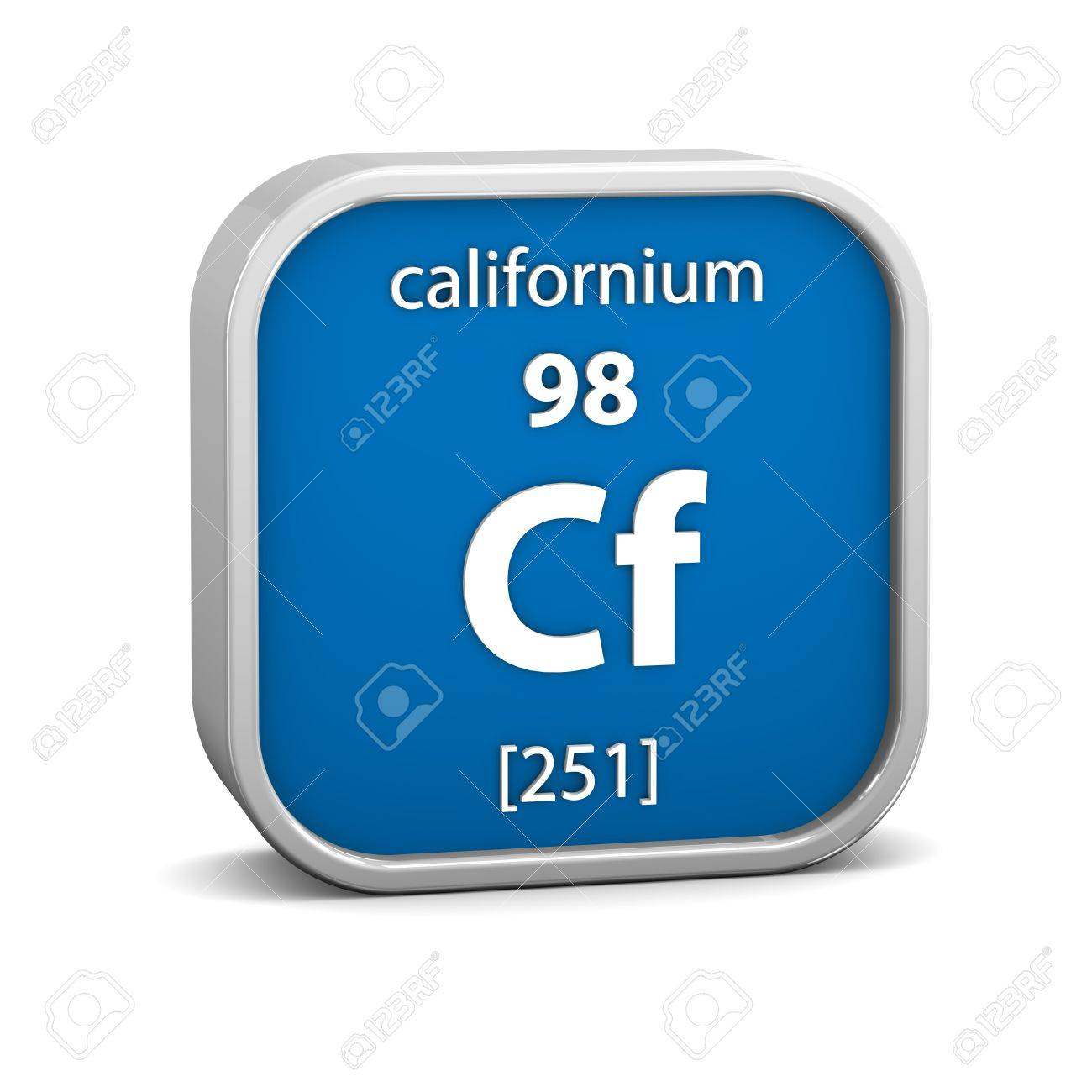 Californium material on the periodic table part of a series californium material on the periodic table part of a series stock photo 19127400 gamestrikefo Images