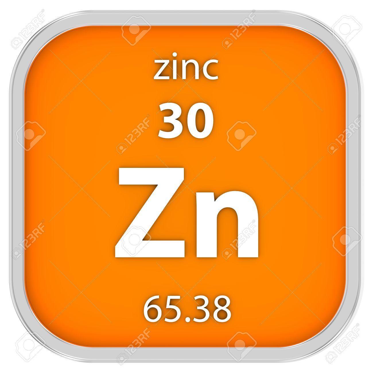 Material de zinc en la tabla peridica parte de una serie fotos foto de archivo material de zinc en la tabla peridica parte de una serie urtaz Images