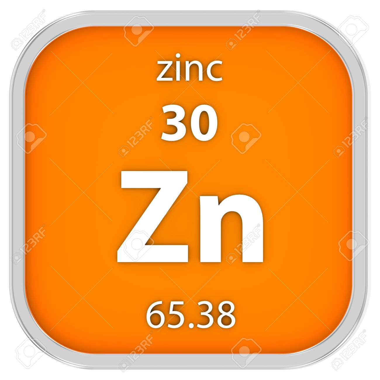 Zinc material on the periodic table part of a series stock photo zinc material on the periodic table part of a series stock photo 39444470 urtaz Images
