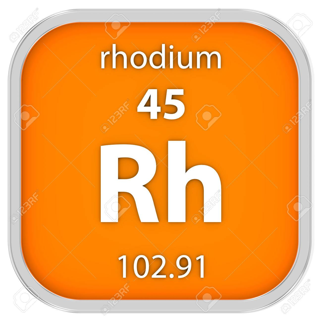 Rhodium material on the periodic table part of a series stock rhodium material on the periodic table part of a series stock photo 40453791 gamestrikefo Image collections