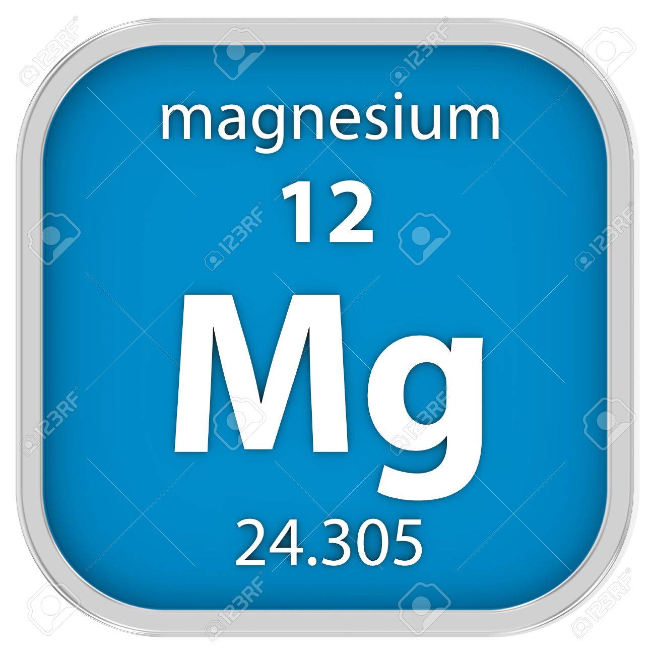 Magnesium material on the periodic table part of a series stock magnesium material on the periodic table part of a series stock photo 40845732 urtaz Choice Image