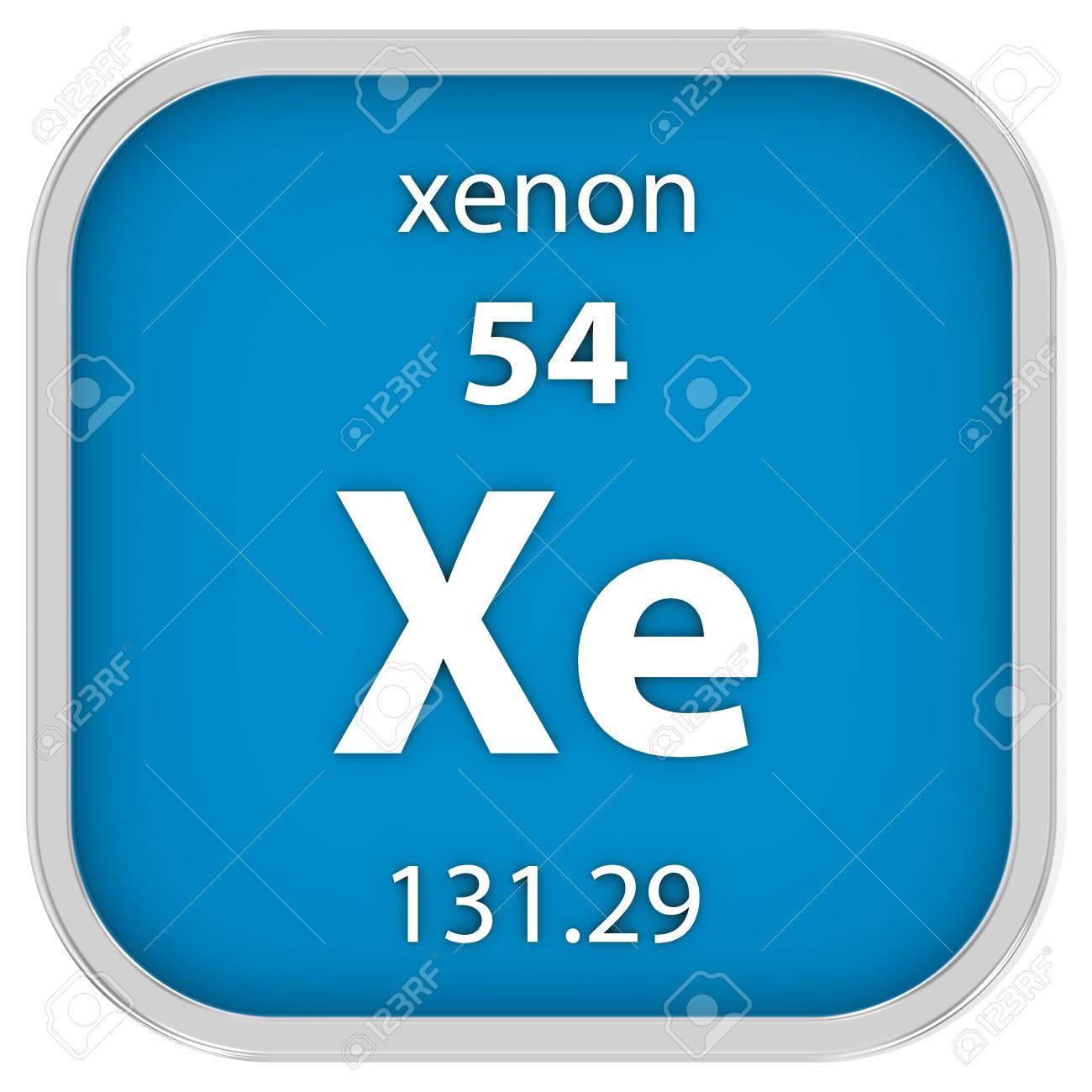 Material de xenn en la tabla peridica parte de una serie fotos foto de archivo material de xenn en la tabla peridica parte de una serie urtaz Gallery