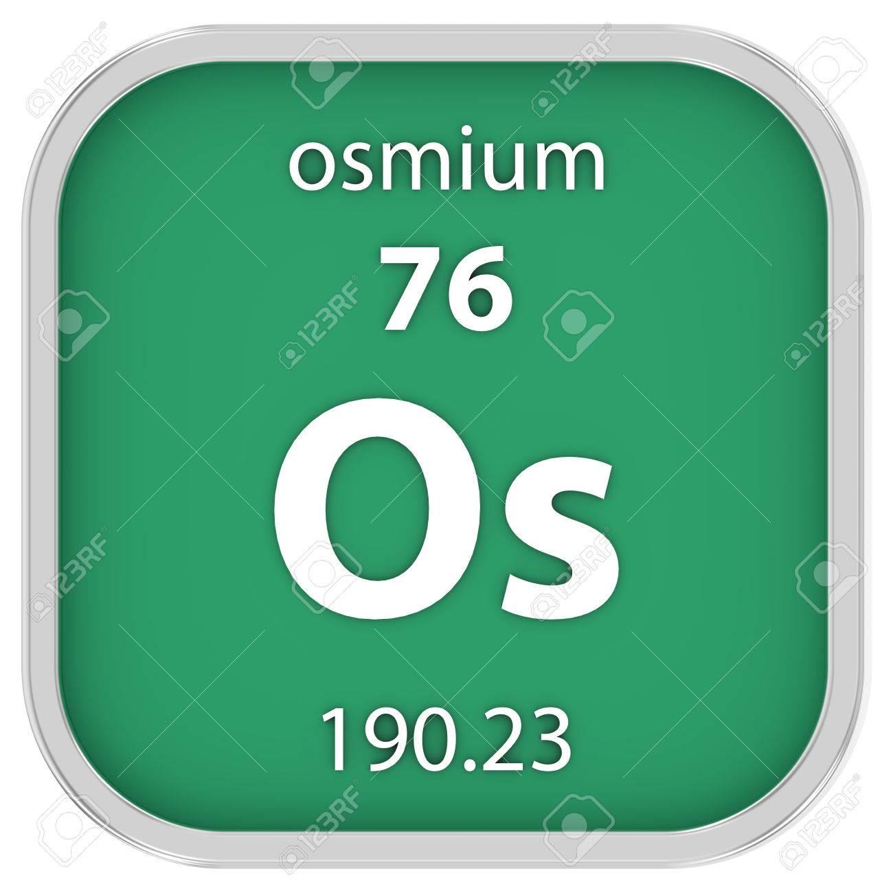 Osmium material on the periodic table stock photo picture and osmium material on the periodic table stock photo 41093553 urtaz Images