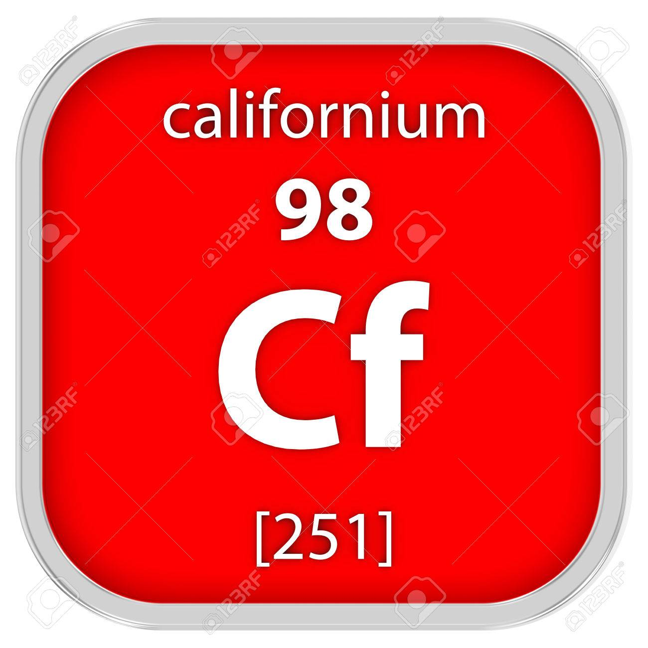 Californium stock photos pictures royalty free californium californium material on the periodic table stock photo gamestrikefo Images