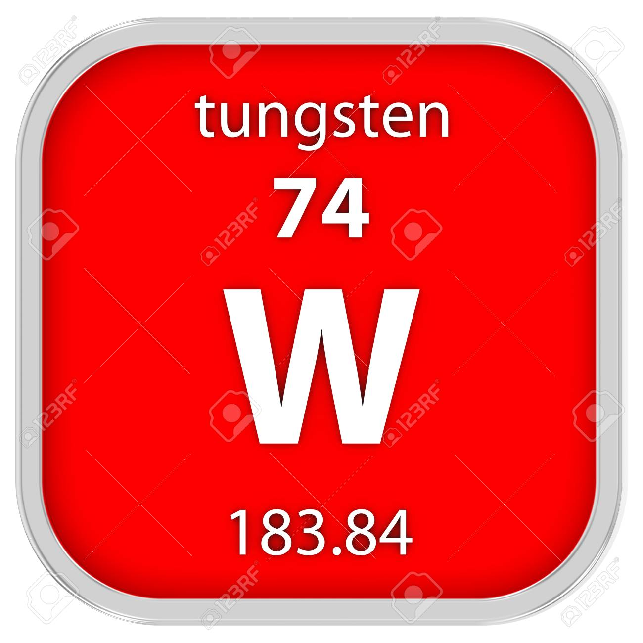 Tungsten material on the periodic table stock photo picture and stock photo tungsten material on the periodic table urtaz Image collections