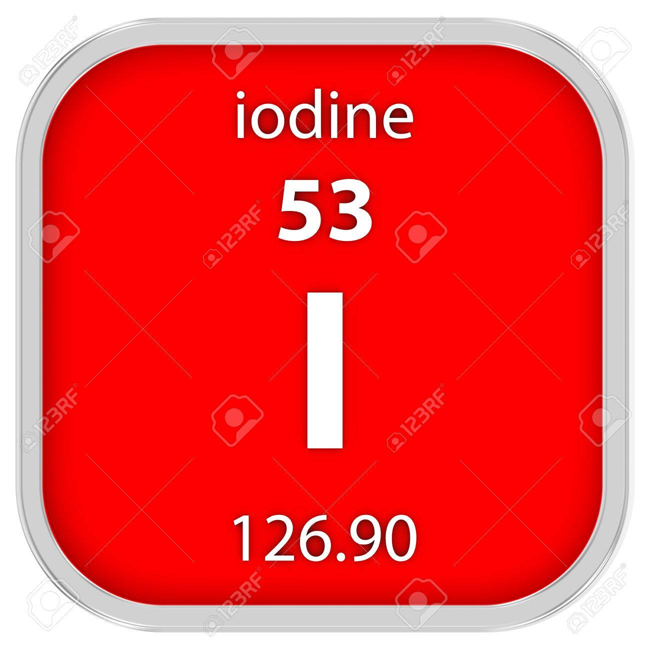 Iodine material on the periodic table stock photo picture and iodine material on the periodic table stock photo 41158598 urtaz Choice Image
