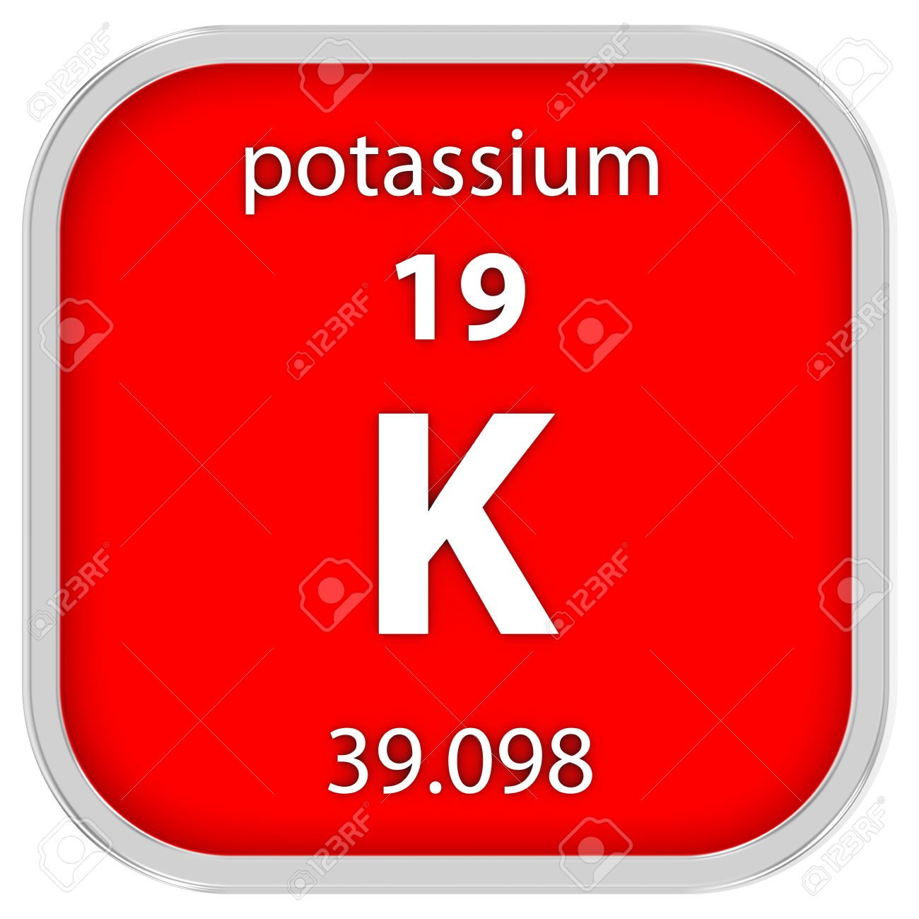 Potassium material on the periodic table stock photo picture and potassium material on the periodic table stock photo 41158653 urtaz Images