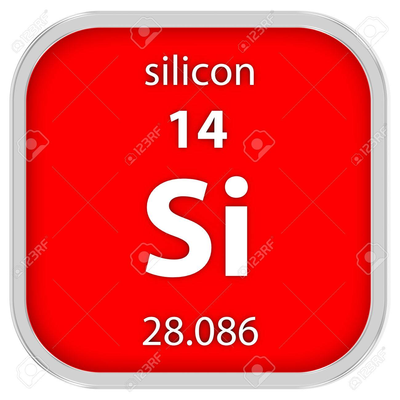 Silicon material on the periodic table part of a series stock silicon material on the periodic table part of a series stock photo 41158685 biocorpaavc Image collections