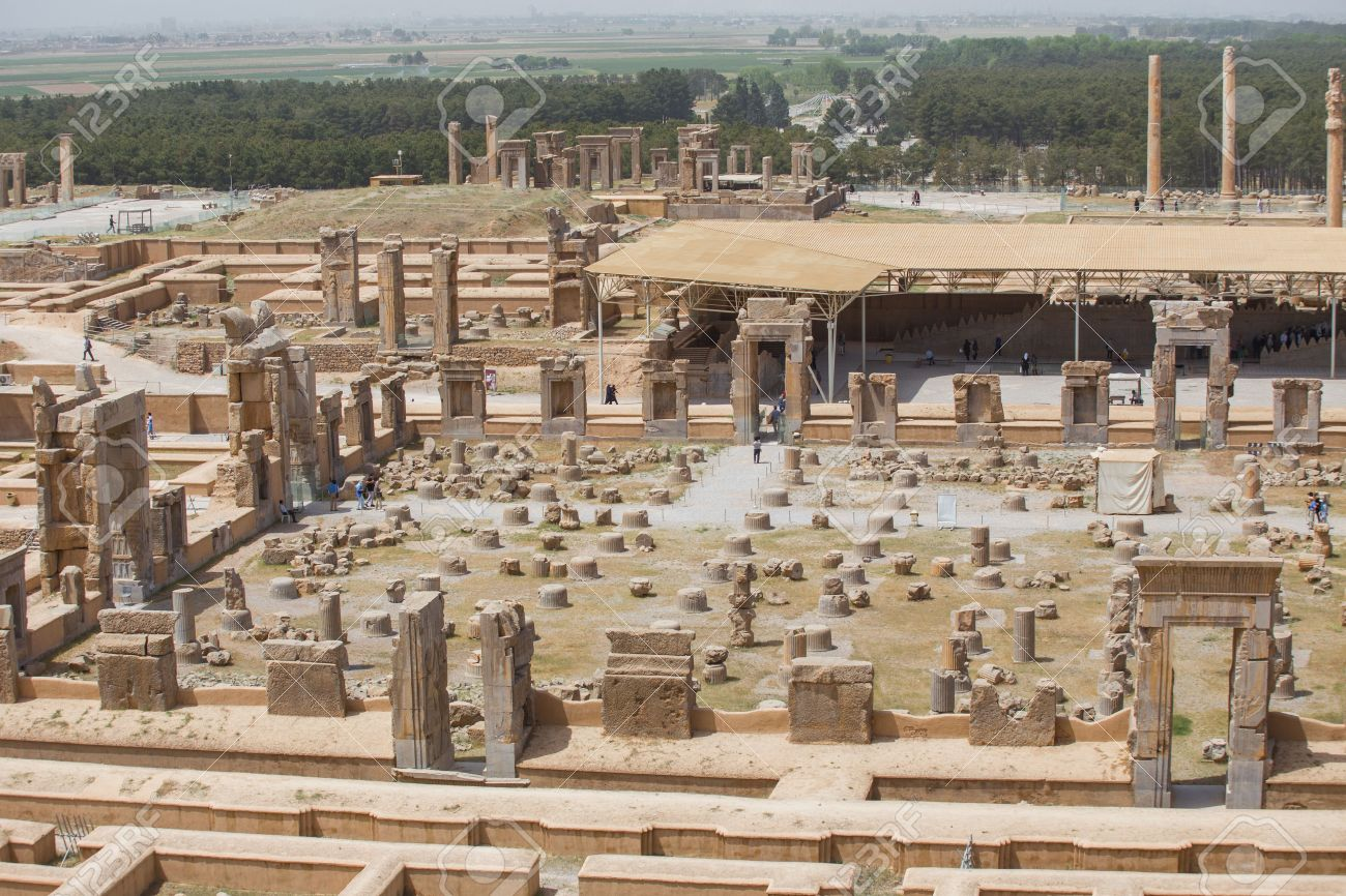 Persepolis The Ceremonial Capital Of The Achaemenid Empire In Stock Photo Picture And Royalty Free Image Image 40149208