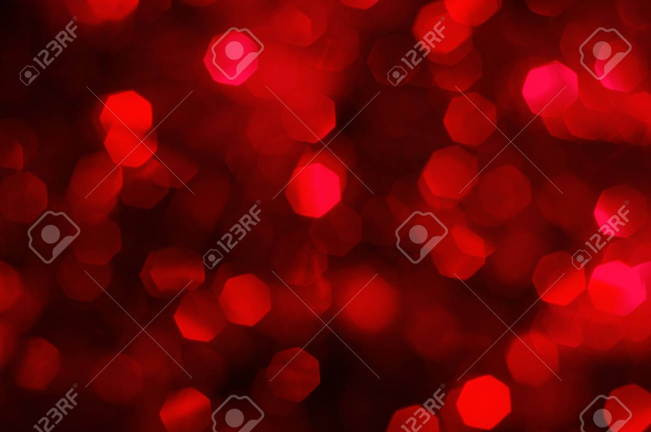 red vintage abstract background with a large bokeh, full frame