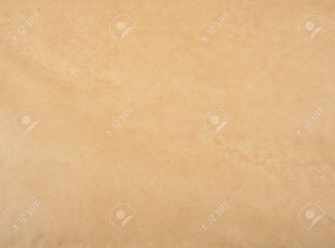 brown parchment paper texture, full frame - 122474250