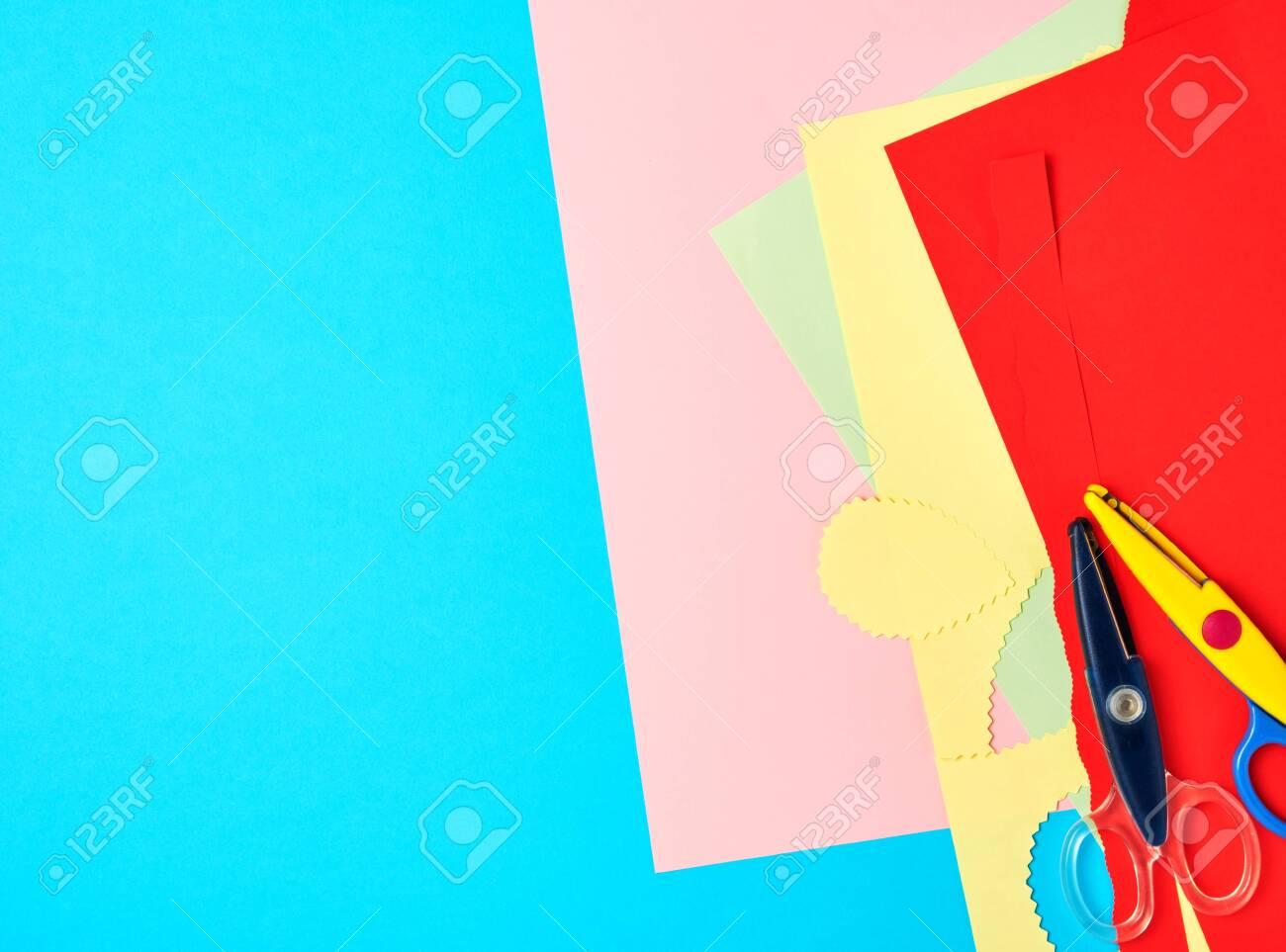 Cut Out Construction Paper Designs For Scrapbook
