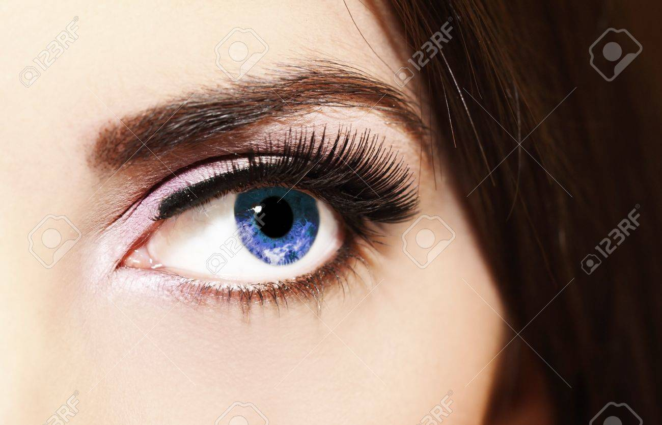 close up of a woman eyes Stock Photo - 10797446