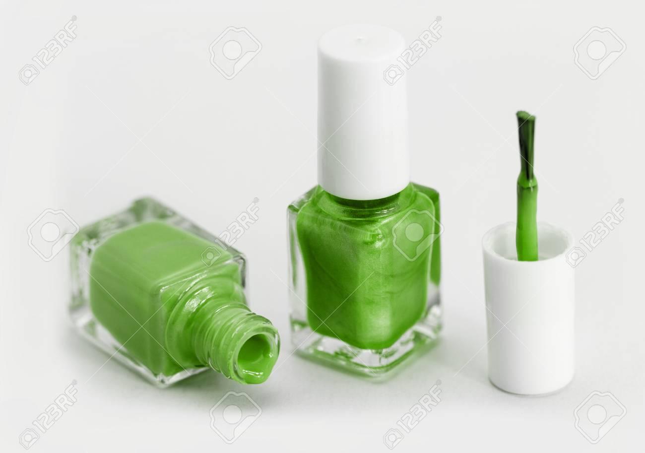 Esmalte De Uñas De Colores - Blanco, Verde Estilo Fotos, Retratos ...