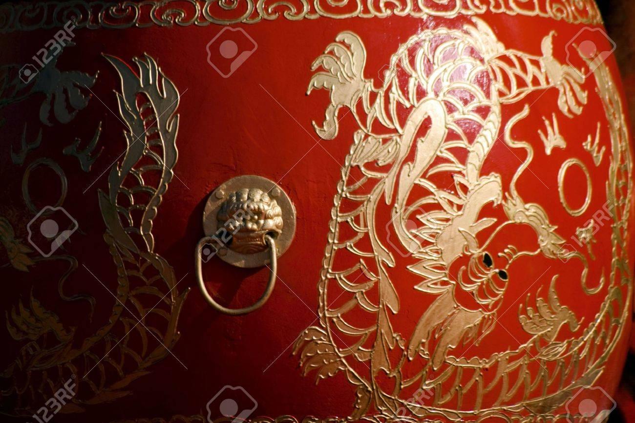 Chinese drum Stock Photo - 4386637