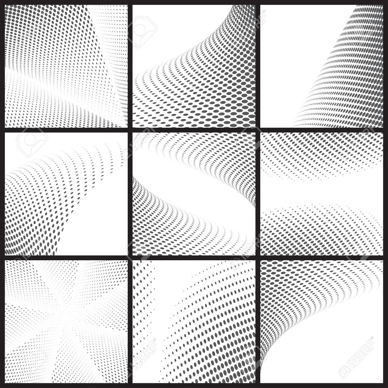 Schwarzer Punkt Halbton Hintergrund Kann Die Verwendung Für Muster ...