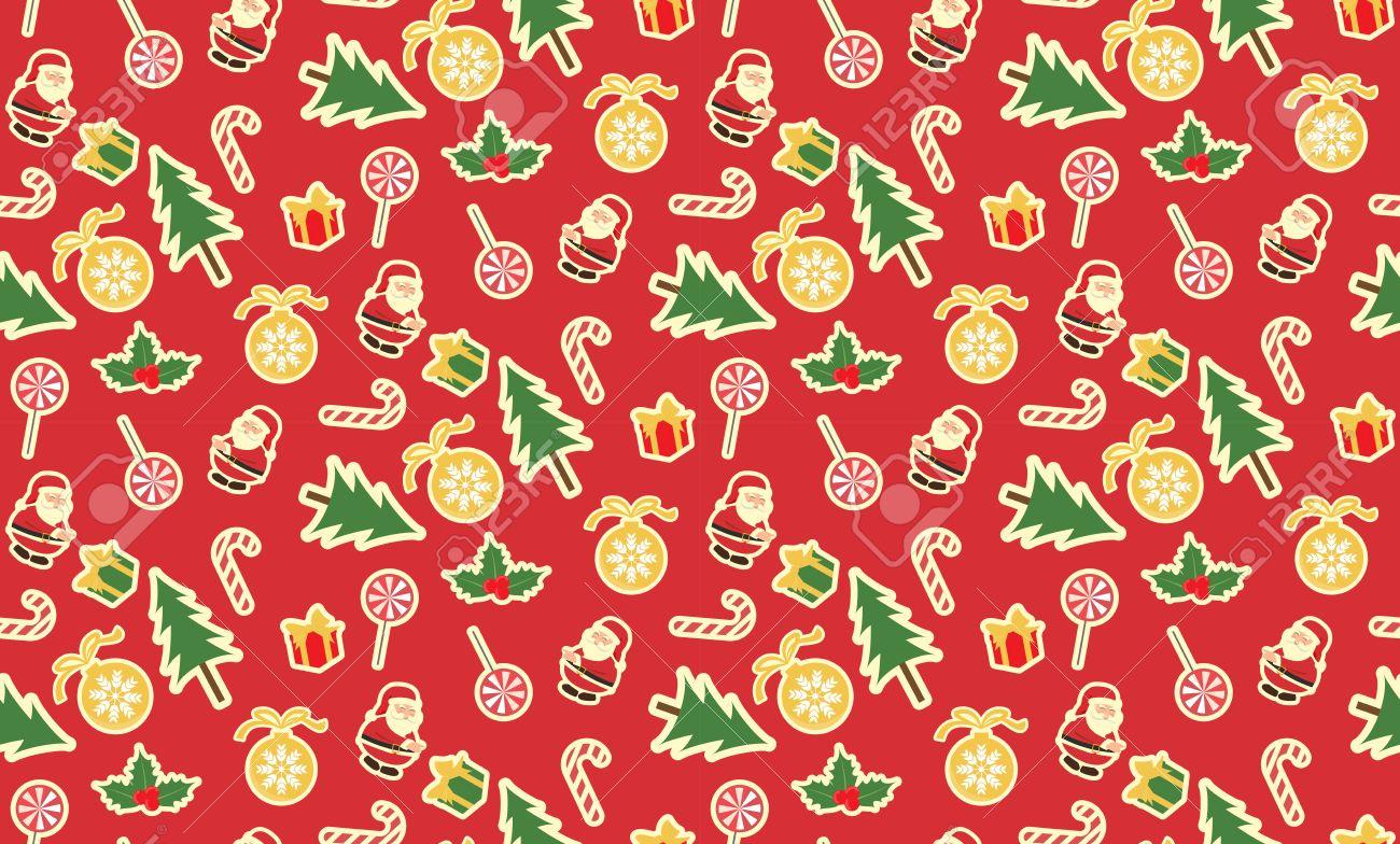 Navidad Sin Patron Muestras De Motivos Vector Textura Fin Se - Motivos-navidad