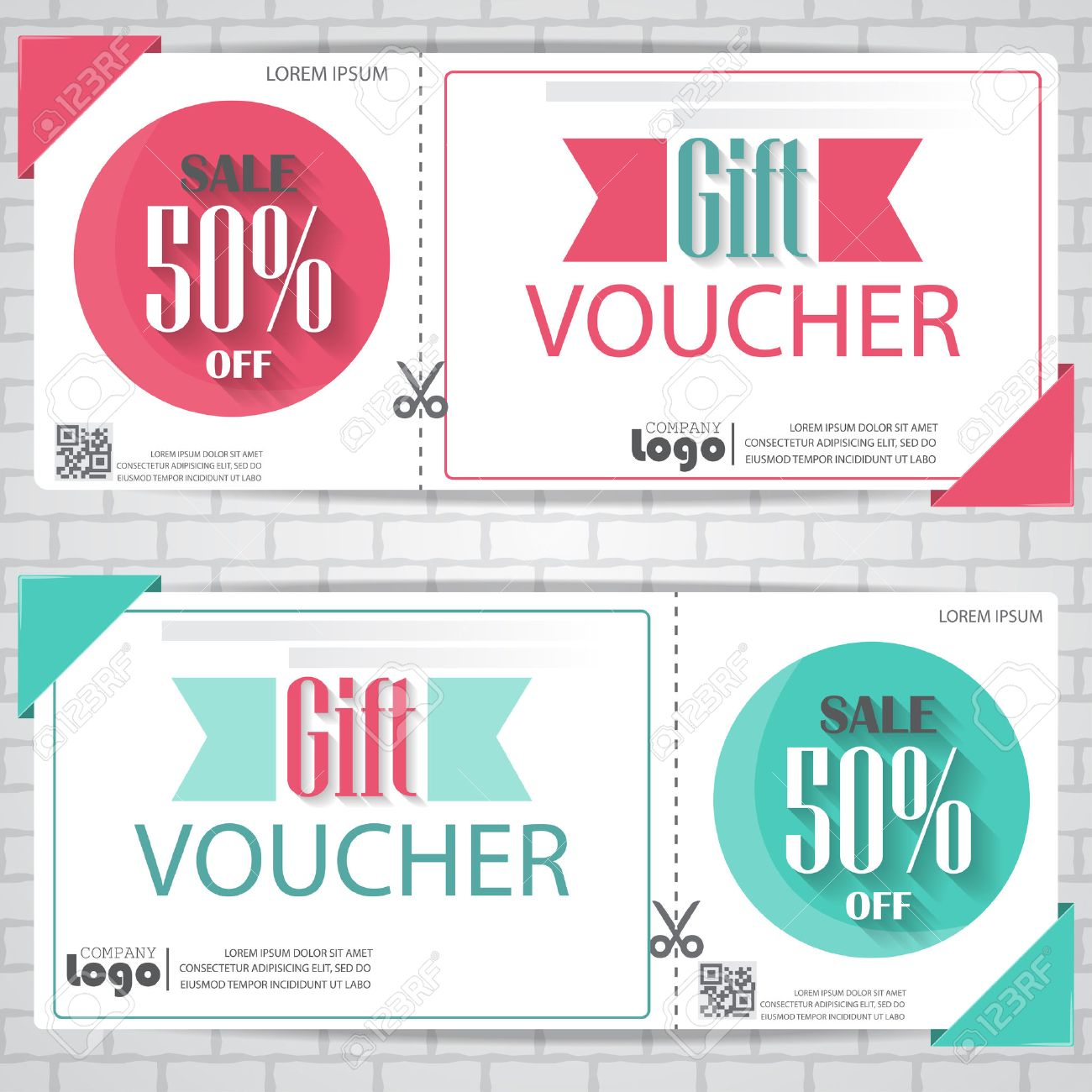 Gift Voucher Certificate Coupon Template Cute And Modern Style – Gift Coupon Template