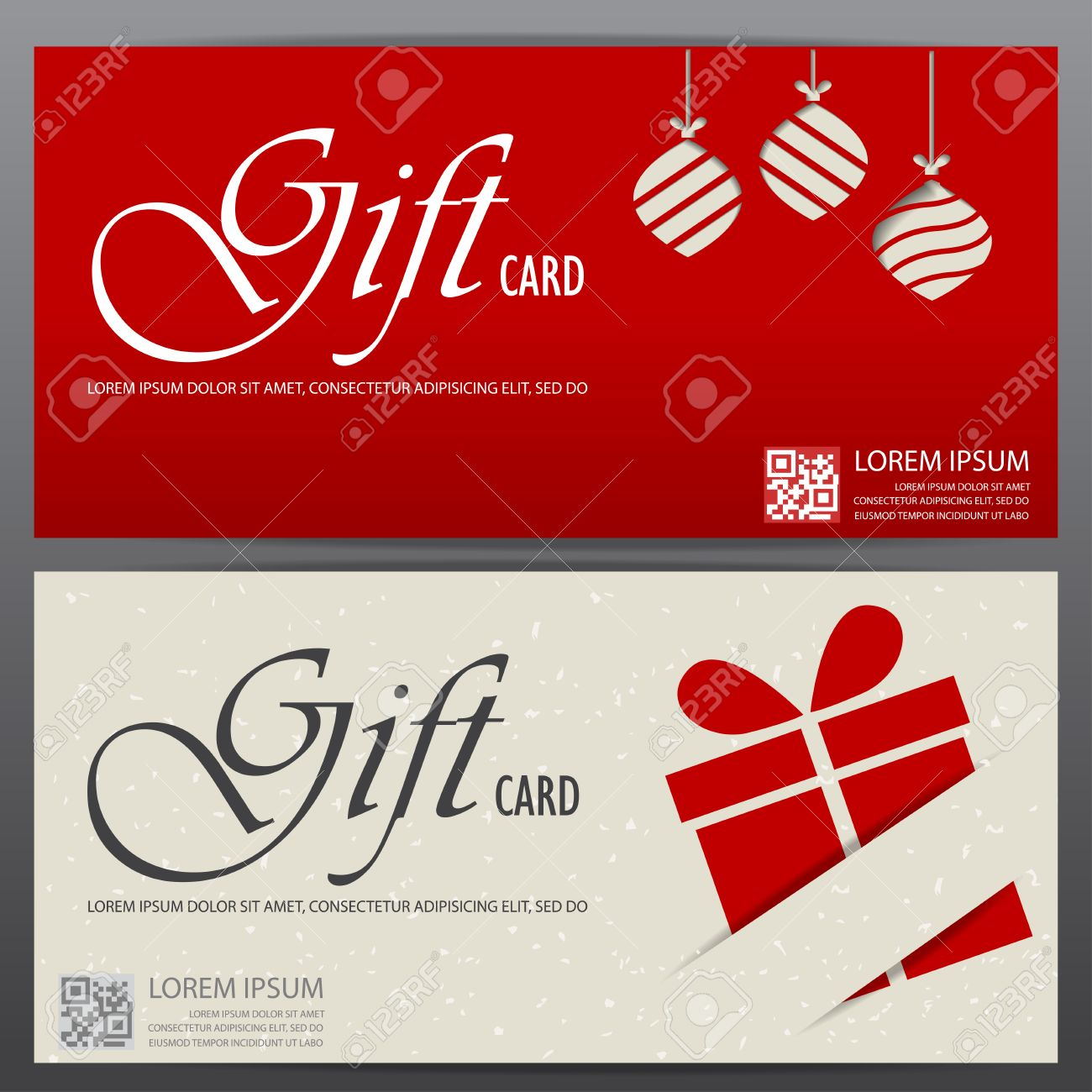 christmas and new year gift voucher certificate coupon template vector christmas and new year gift voucher certificate coupon template can be use for business shopping card customer and promotion layout