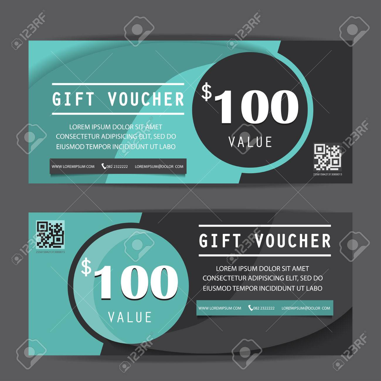 Black Friday Gift Voucher Certificate Coupon Template Can Be