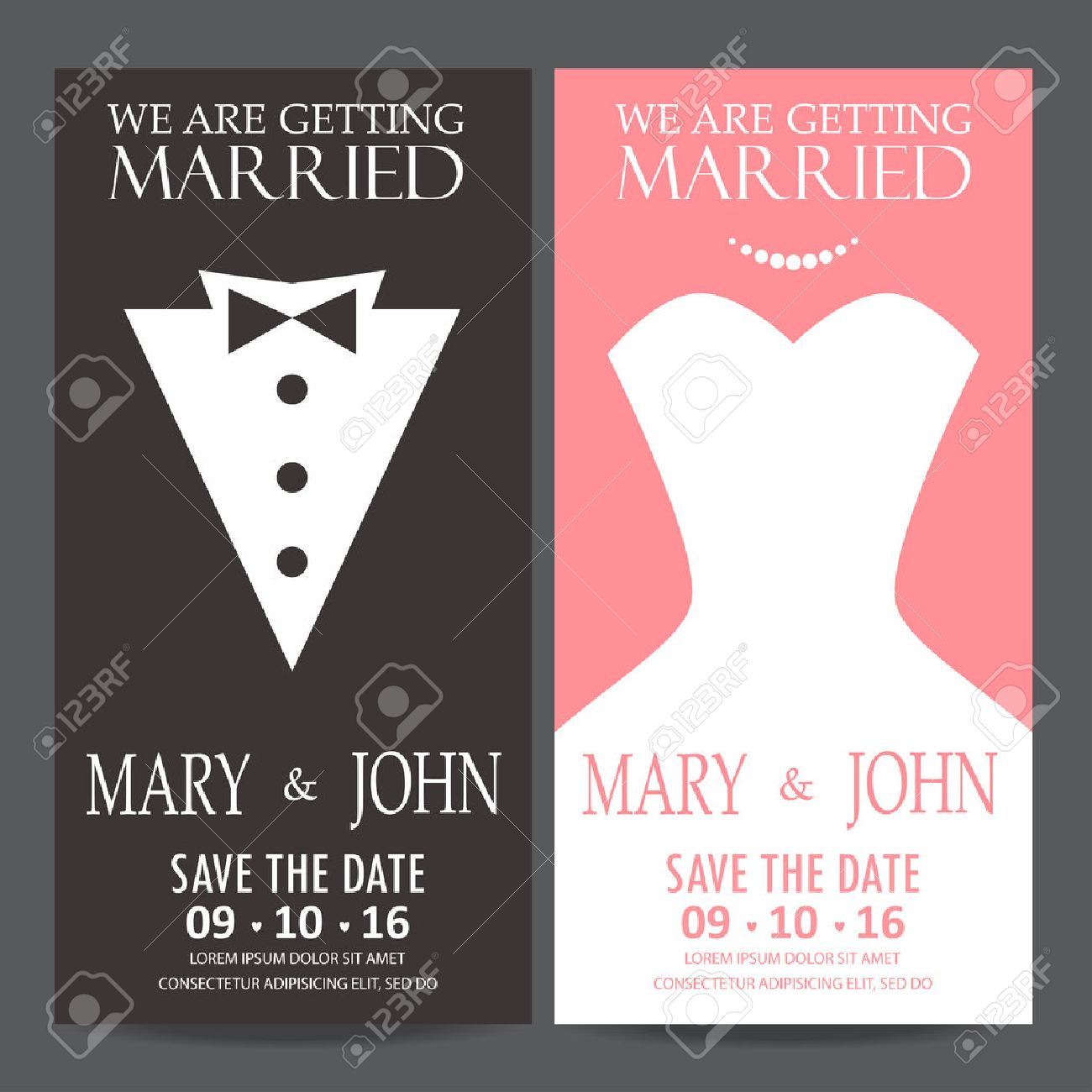 Valentine Wedding Invitations Image collections - Party ...