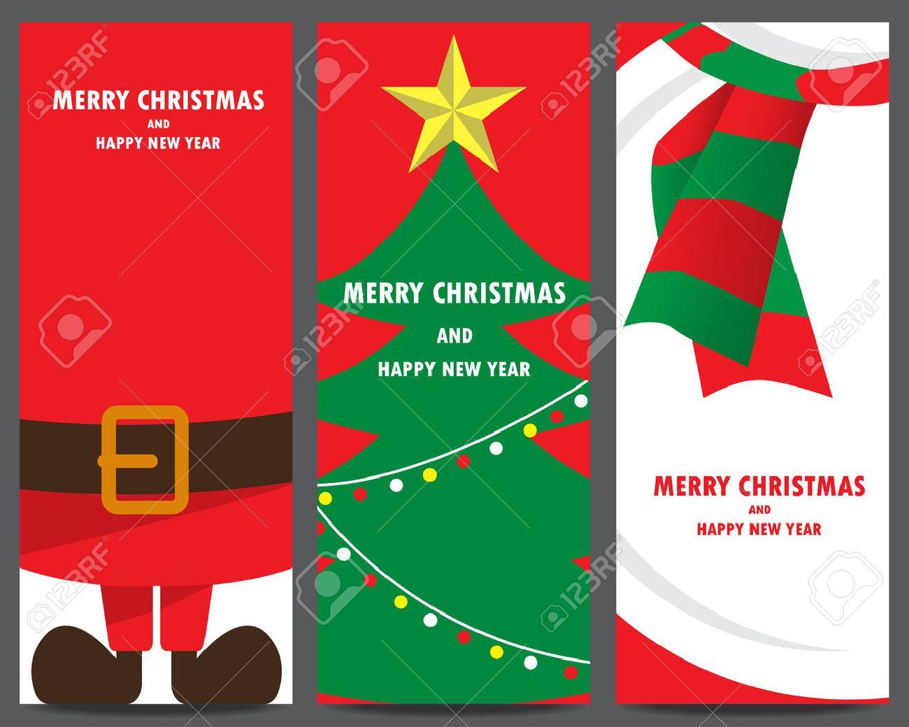 Weihnachts-Einladung Und Gruß Vorlage. Weihnachtsmann ...