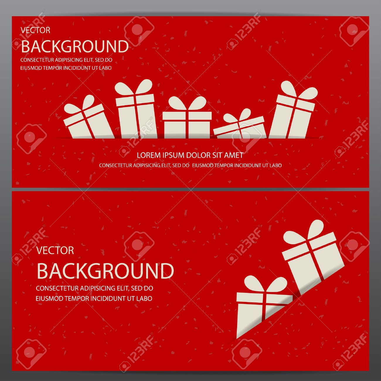 Christmas And New Year Gift Voucher Certificate Coupon Template. Can Be Use  For Business Shopping  Business Coupon Template