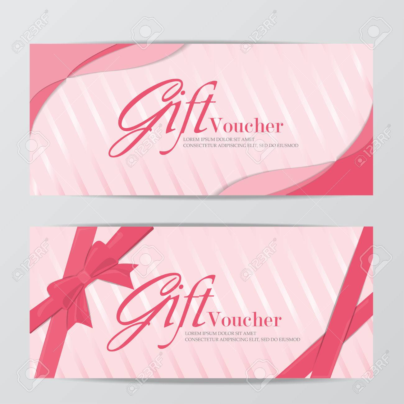 Girl gift voucher certificate coupon template sweet pink cute girl gift voucher certificate coupon template sweet pink cute design can be use for yadclub Image collections