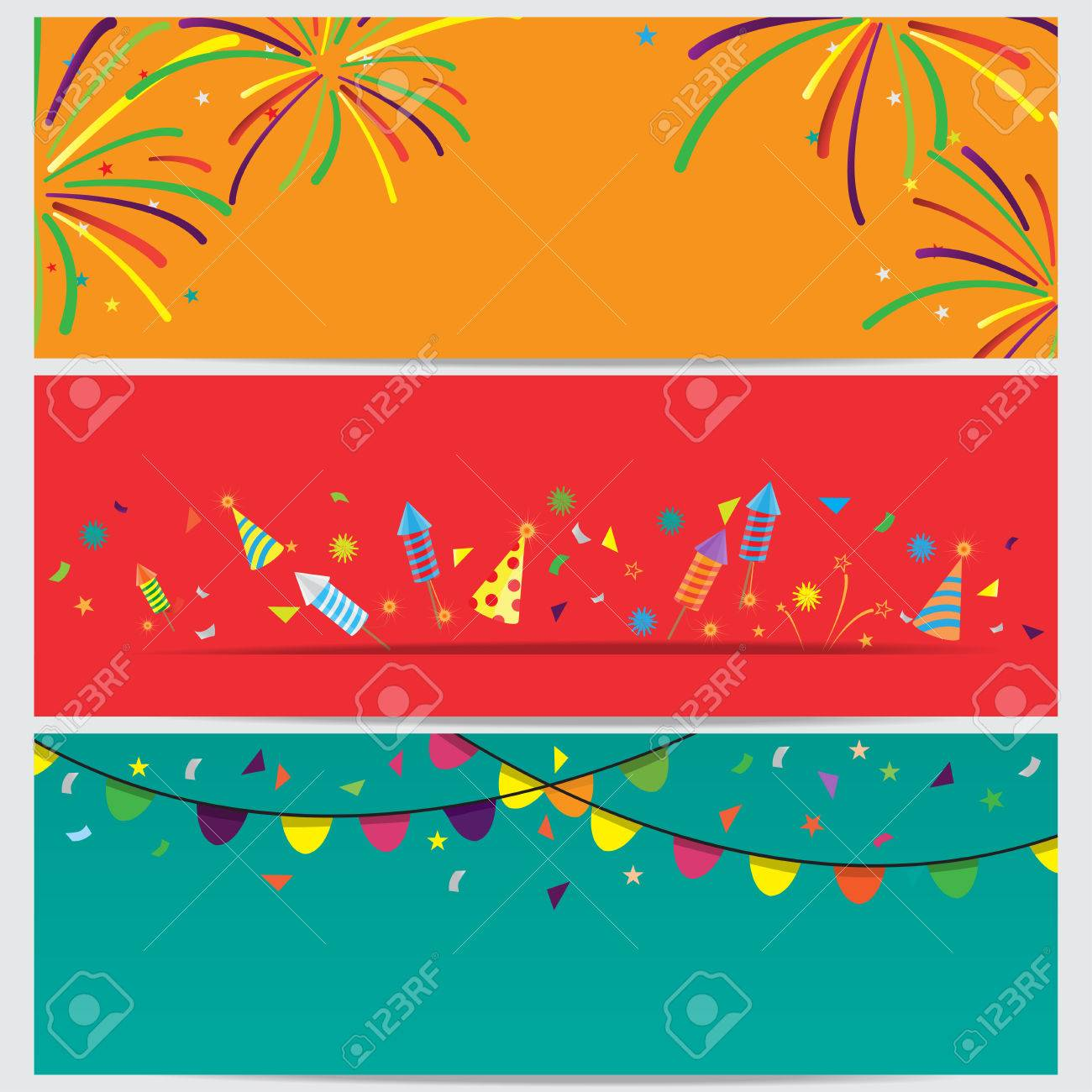 Konfetti Und Feuerwerk Hintergrund Konnen Ues Zum Feiern Neujahr
