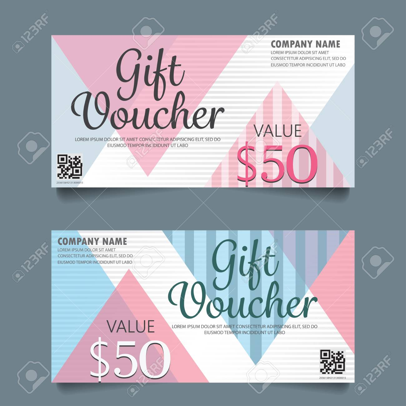Gift voucher certificate coupon template cute and modern style gift voucher certificate coupon template cute and modern style design can be use for fbccfo Gallery