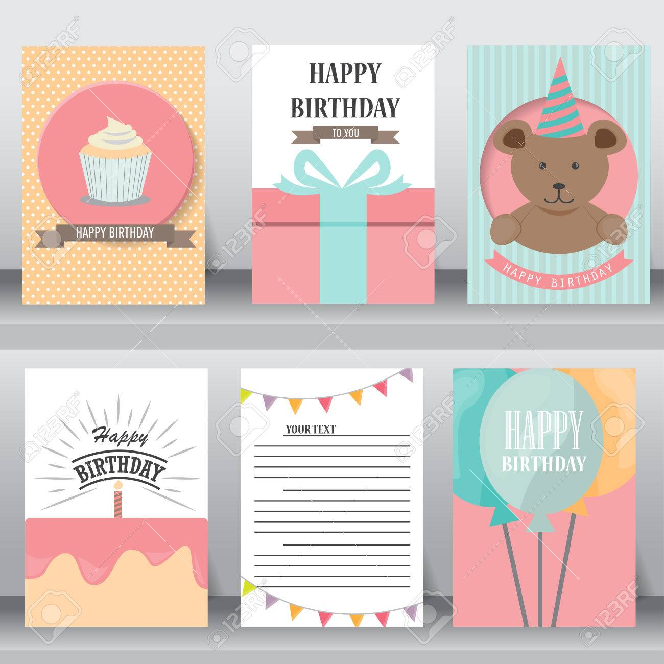 Happy birthday baby shower greeting and invitation card or happy birthday baby shower greeting and invitation card or note there are gift box stopboris Images