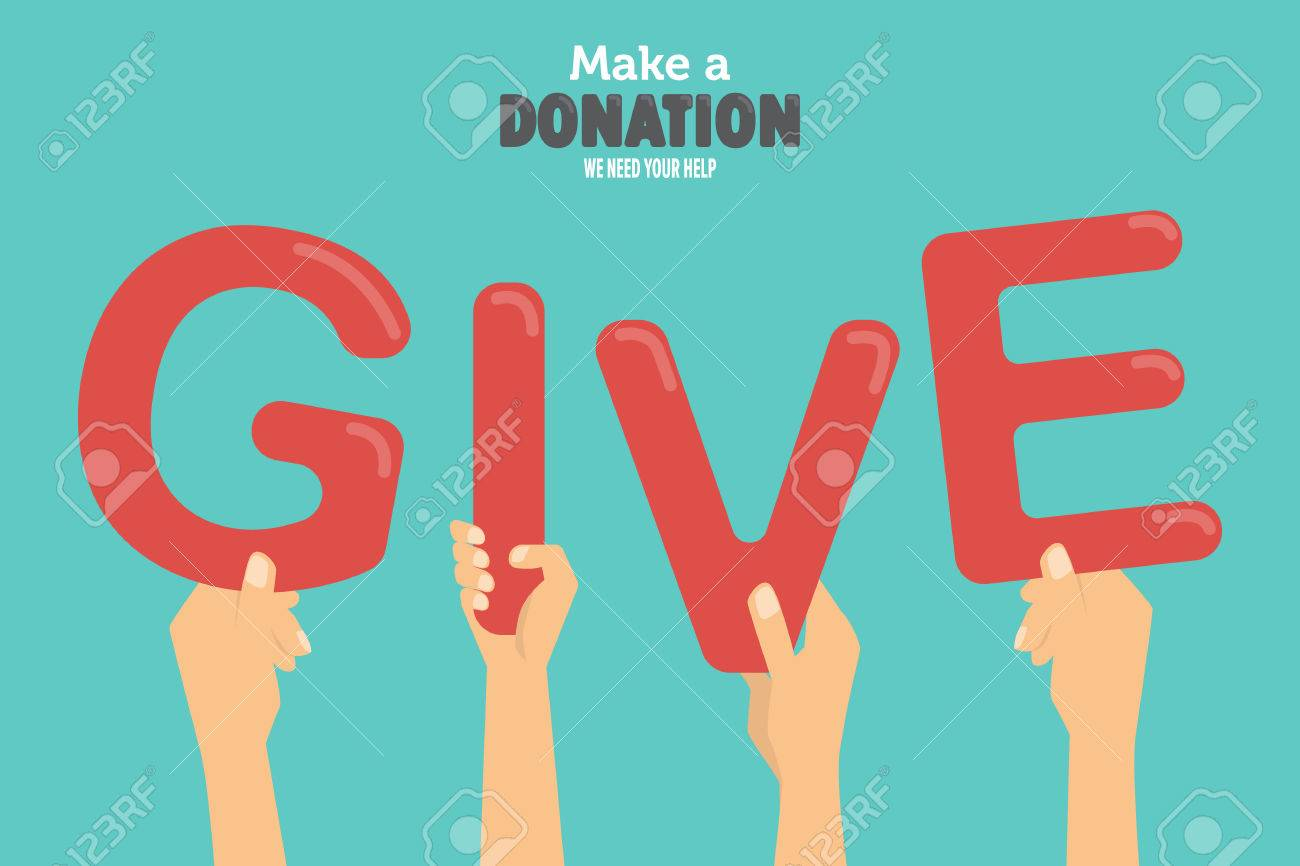 give and share your love to poor people charity and donation