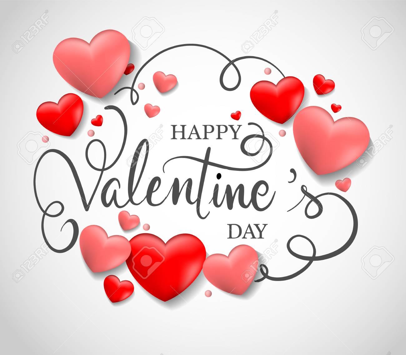 Valentines Day Sale Background Vector Illustration Design For