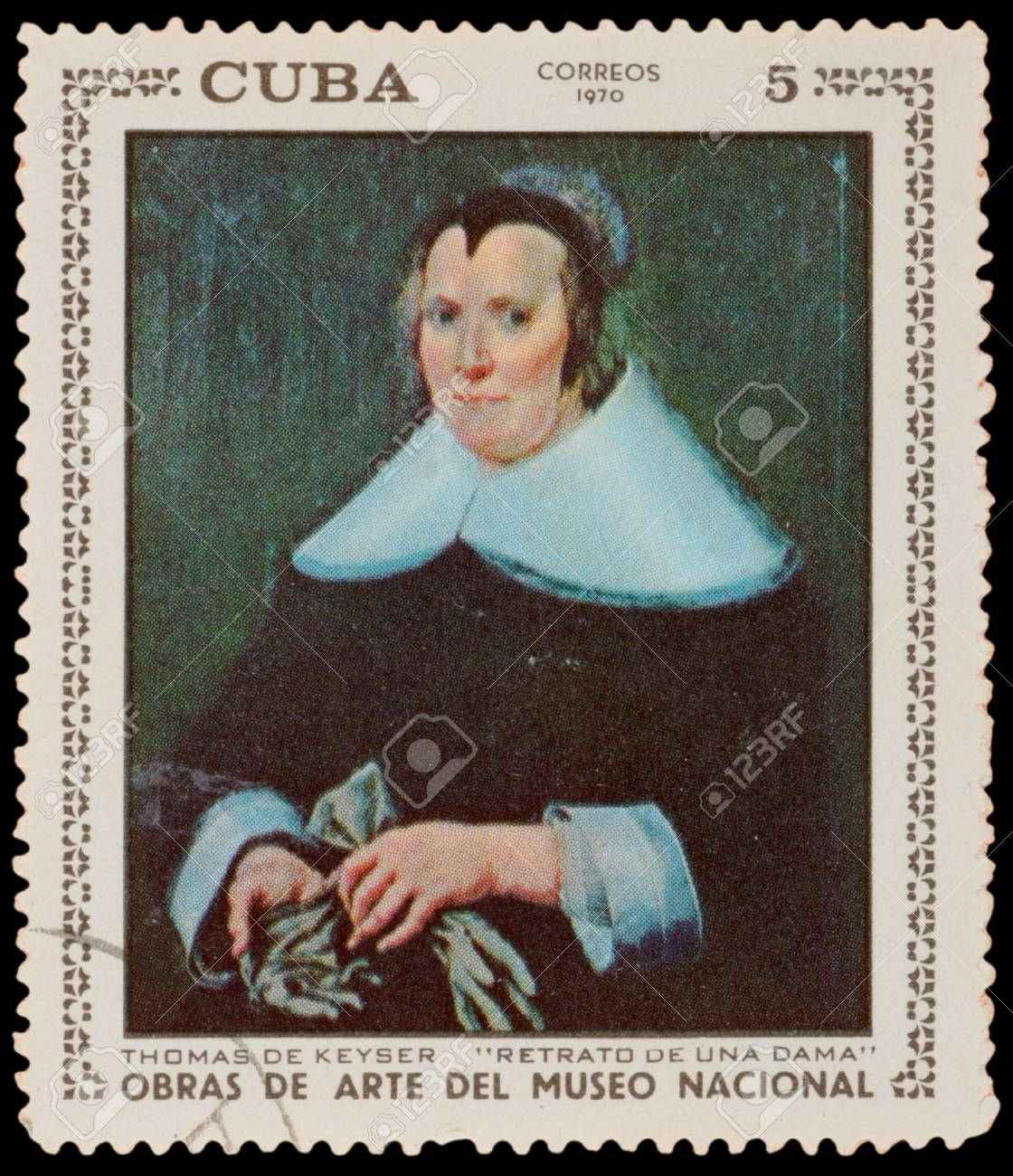 CUBA - CIRCA 1970: A stamp printed in the CUBA, shows