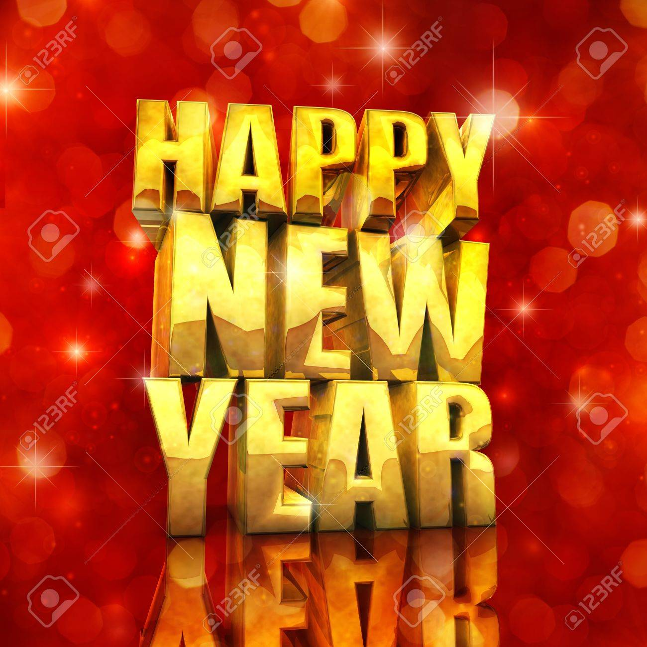 Happy New Year , best wishes Stock Photo - 11050659