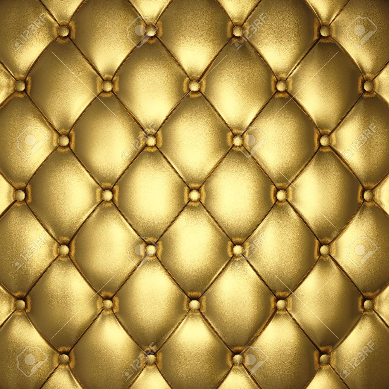 Leather cushion texture - Gold Leather Upholstery 3d Illustration Stock Illustration 15419171