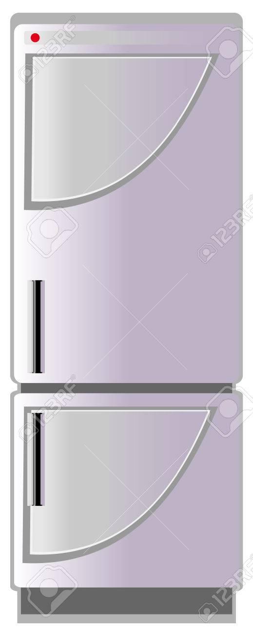 Refrigerator, vector illustration Stock Vector - 5163027