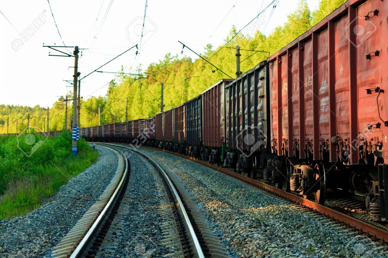 Freight train Stock Photo - 7172701
