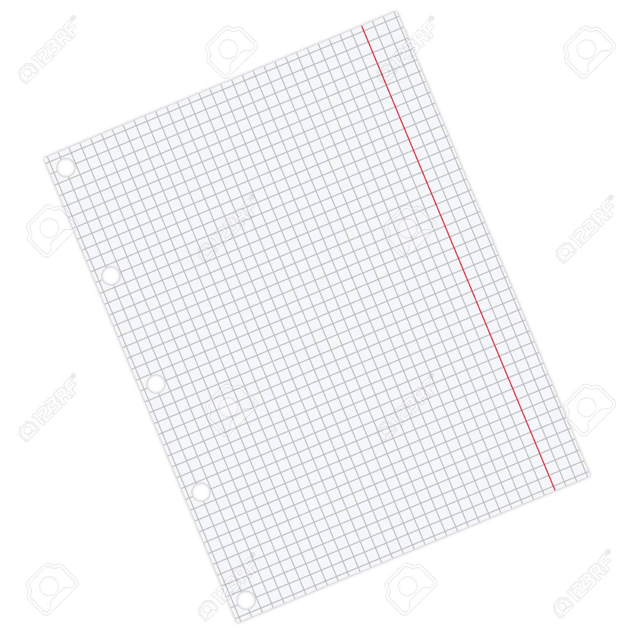 sheet of paper Stock Vector - 7460708