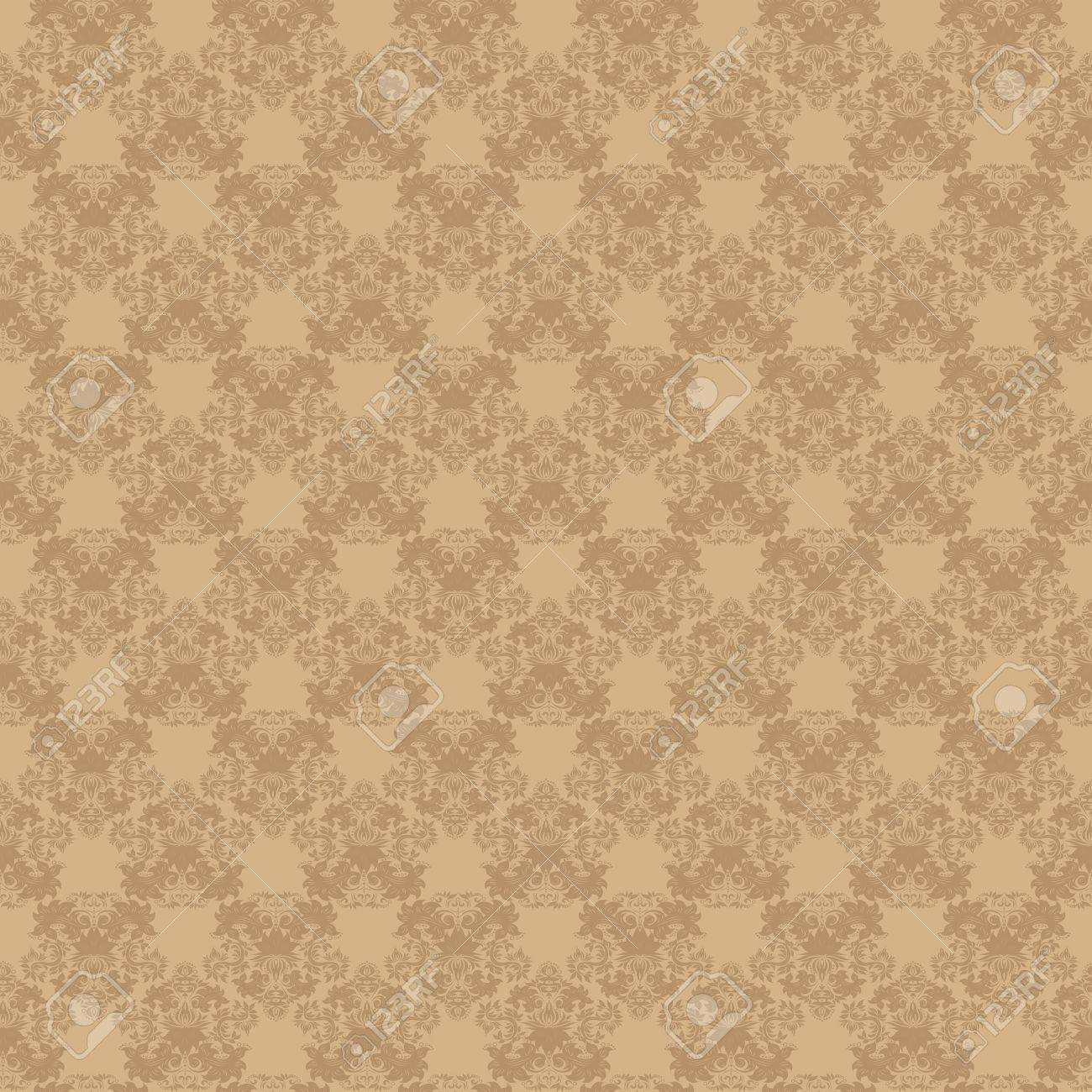 Seamless vintage beige background Stock Photo - 10343733