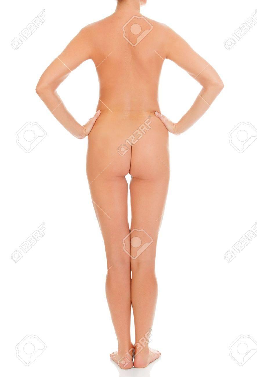 Beautiful female body, isolated on white background Stock Photo - 14534211