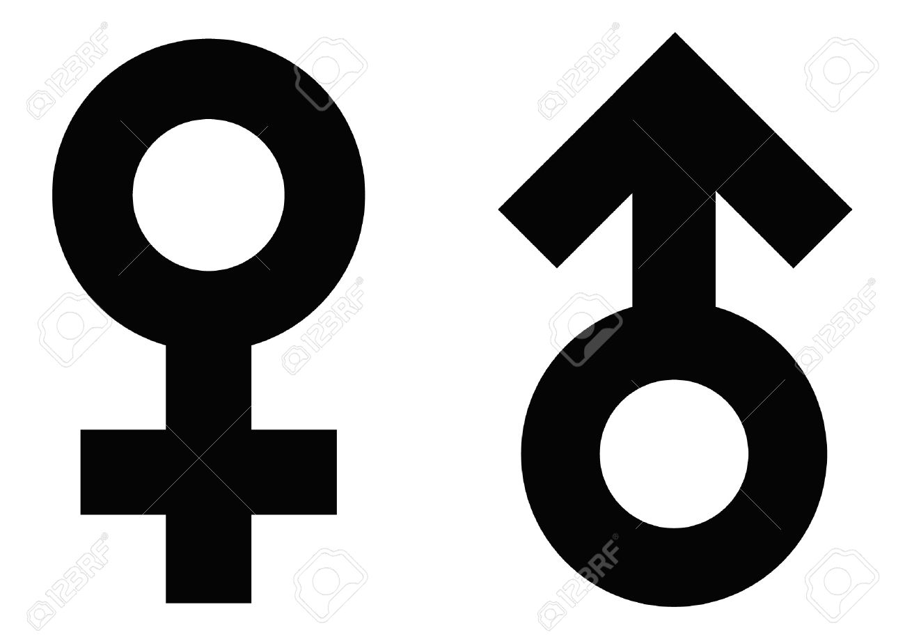 Symbols for male female image collections symbol and sign ideas male and female symbols royalty free cliparts vectors and stock male and female symbols stock vector buycottarizona