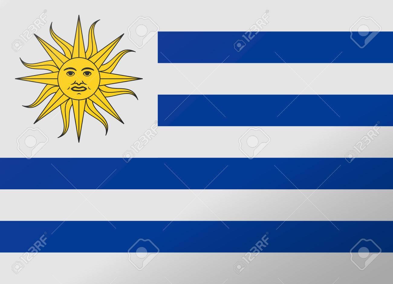 uruguay drapeau