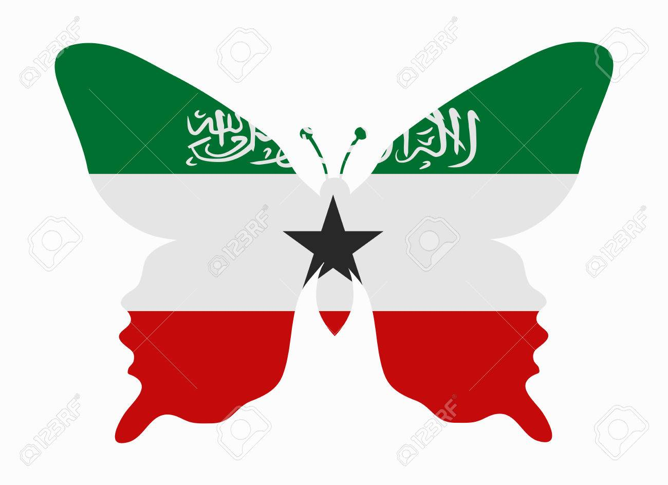 Somaliland Flag Butterfly Royalty Free Cliparts Vectors And Stock Illustration Image 45121949