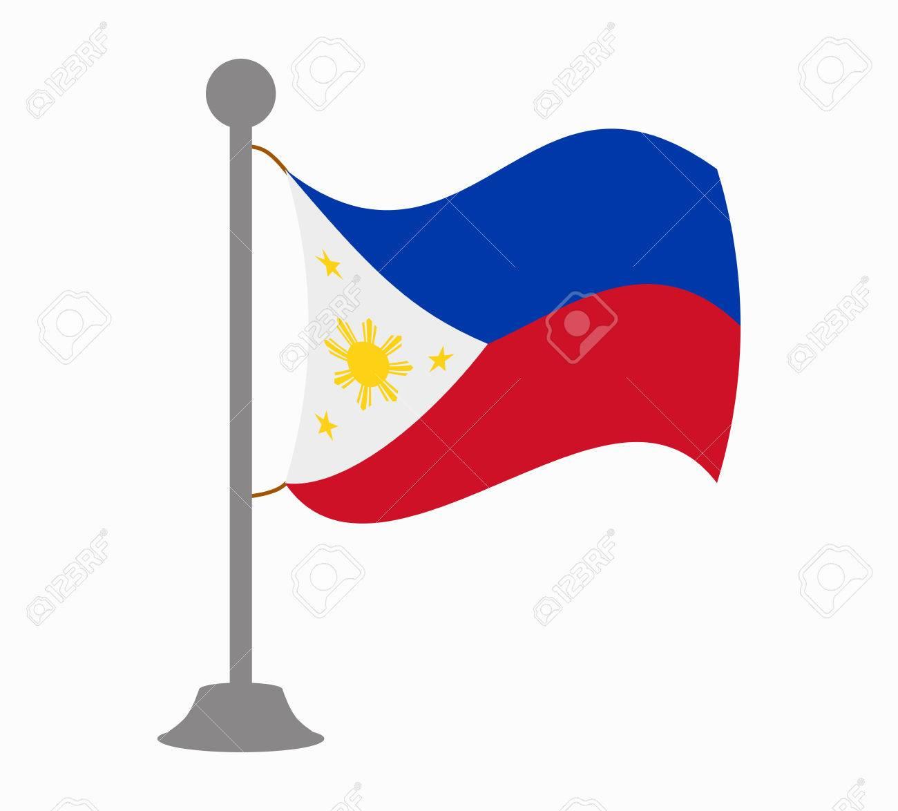 Philippines flag mast royalty free cliparts vectors and stock philippines flag mast stock vector 63214856 buycottarizona Images